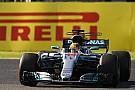 Mercedes descarta preocupação com motor de Hamilton