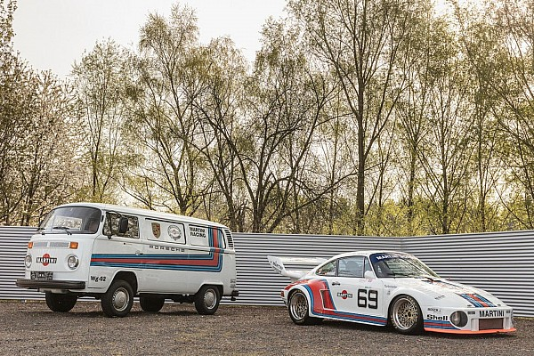 Automotive Nostalgia Amazing Porsche 935 and matching support van for sale