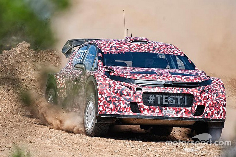 Racing Continues Development Of Its 2017 World Rally Car In Portugal