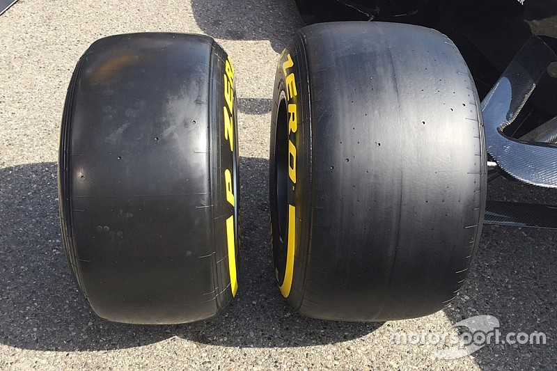 Pirelli offers first look at wider 2017 F1 tyres