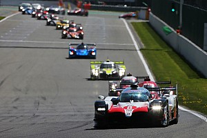 WEC Breaking news WEC makes EoT changes to level LMP1 playing field