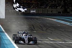 F1 比赛报告 阿布扎比大奖赛:博塔斯顶住汉密尔顿压力,夺取收官战胜利