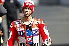 MotoGP Dovizioso: Saya tidak memiliki kecepatan saat balapan