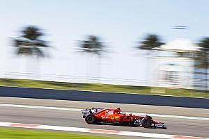 F1 テストレポート アブダビテスト:2日目はベッテル首位。クビサは7番手タイムを記録