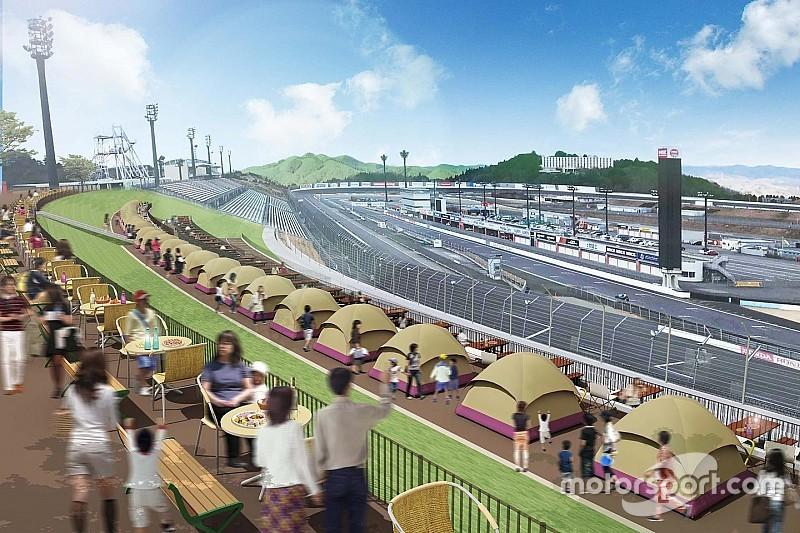 もてぎのレース観戦に新スタイルを提案。ビクトリーコーナーテラス登場