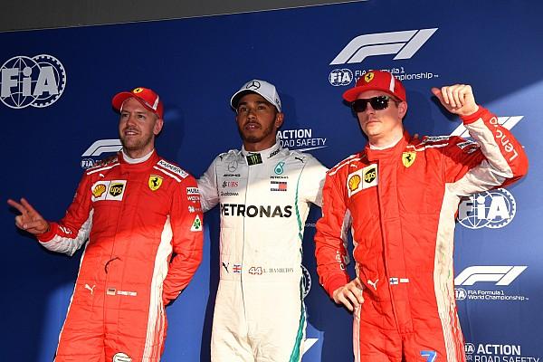 Fórmula 1 Relato de classificação Hamilton domina treino na Austrália e marca 1ª pole de 2018
