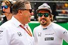 McLaren betont: Fernando Alonso hat nie Abschied von Honda gefordert
