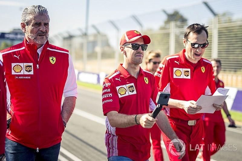 """Vettel: """"Questa è solo la prima gara, conterà il bilancio finale"""""""