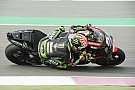 MotoGP Zarco, el más rápido en el tercer ensayo libre en Losail; Viñales pasará por la Q1