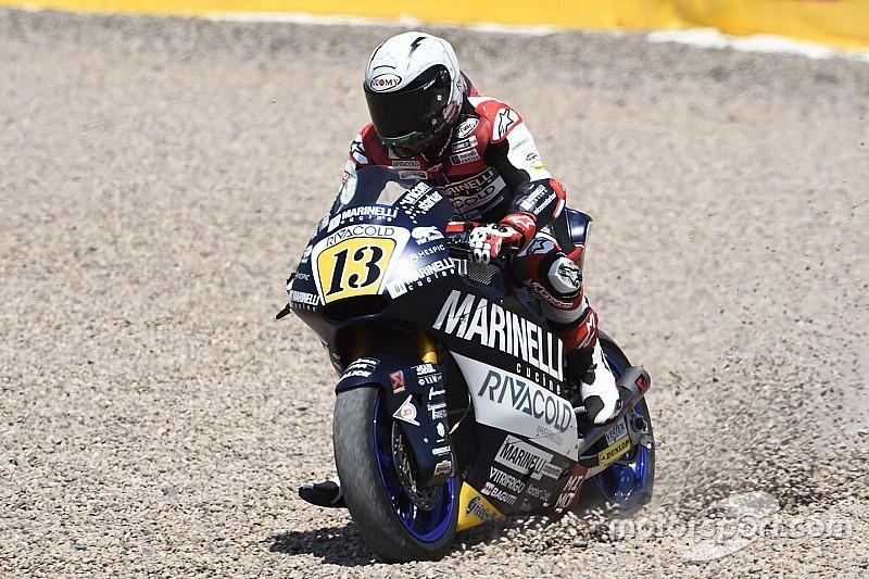 Гонщики MotoGP про Фенаті, якого вигнали з Moto2: таких треба гнати у три шиї