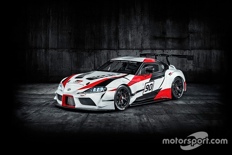スープラ、16年ぶりに復活。「GR Supra Racing Concept」が世界初公開