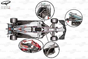 Fórmula 1 Análisis ¿Cuáles son las tendencias de diseño en los F1 de 2018?