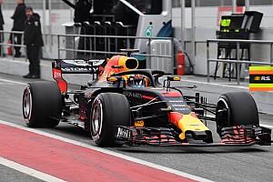 Fórmula 1 Crónica de test Red Bull marca el paso en Barcelona