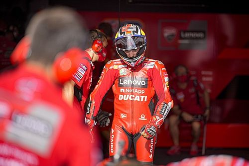 """Ducati's Miller """"hit a wall"""" with tyres in Qatar"""