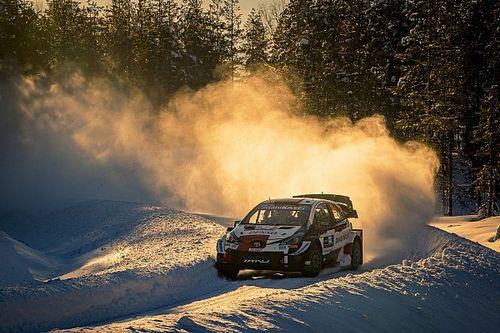 Rovanpera najmłodszym liderem WRC