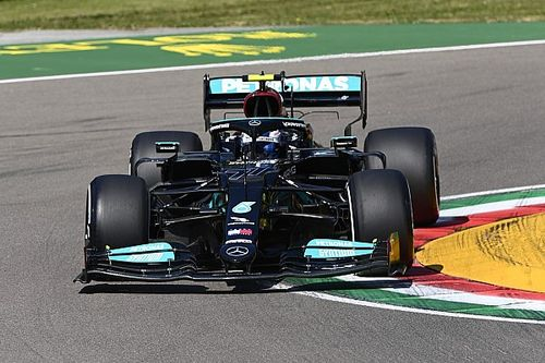 F1エミリア・ロマーニャFP1:ボッタス、ハミルトン、フェルスタッペンが僅差で続く。角田裕毅20番手
