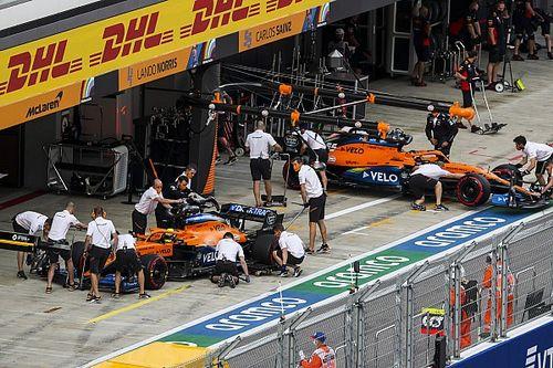 Norris és Sainz körbejárták a paddockot Szocsiban, az eredmény olyan, mint gondolnád