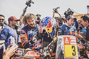 El gigante imparable que ganó el Dakar lesionado