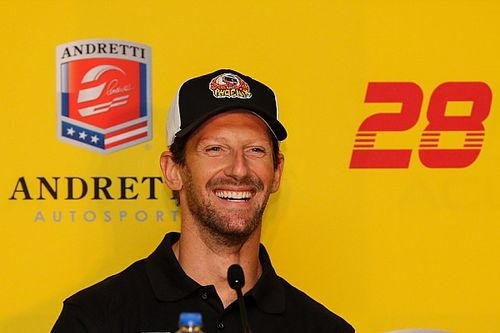 Grosjean confirmed at Andretti Autosport for 2022 IndyCar season