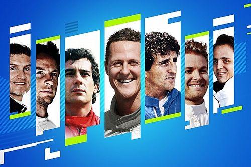 Tujuh Pembalap Ikonik Hadir di Gim F1 2021