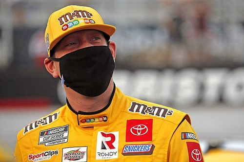 "Kyle Busch has ""no expectations"" for the NASCAR playoffs"