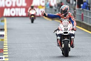 MotoGP Reactions Sulit kejar Dovizioso-Marquez, Petrucci pilih amankan podium