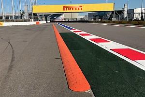 Формула 1 Новость Во втором повороте трассы в Сочи установили «лежачих полицейских»