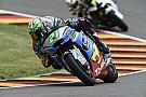 Moto2 Morbidelli vola sul bagnato e centra la pole al Sachsenring