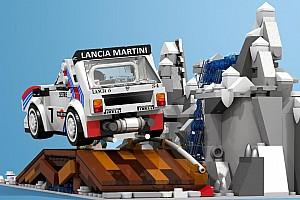 Automotive Noticias de última hora Lancia Delta S4 de Lego, el futuro juguete campeón del mundo
