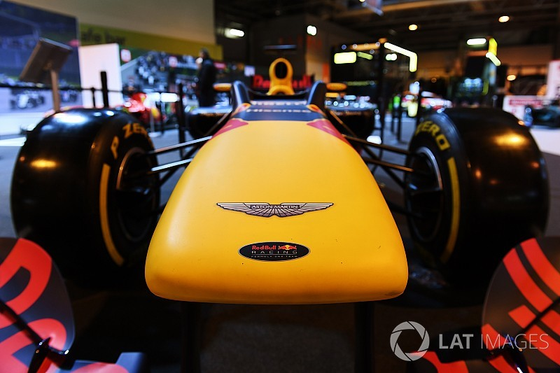 Aston Martin named as Red Bull's 2018 title sponsor