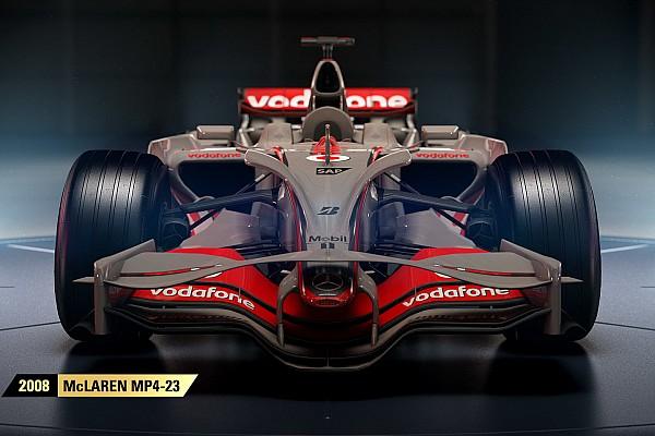 Симрейсинг Новость В игре F1 2017 появятся четыре исторические машины McLaren