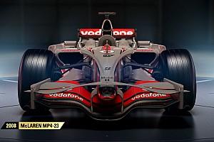 Videogames Nieuws Volledige line-up klassieke Formule 1-auto's in F1 2017 bekend