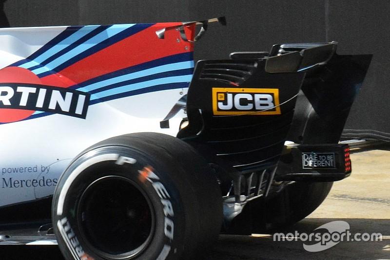 Williams: doppio spoiler in fondo alla pinna della FW40