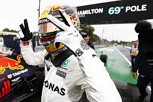 Fórmula 1 Crónica de Clasificación Hamilton logró la pole en Monza y ya es récord absoluto