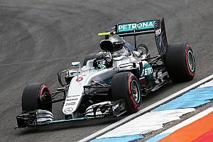Formula 1 Practice report German GP: Rosberg leads Mercedes 1-2 in FP1