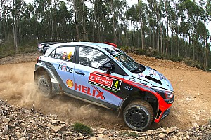WRC Race report Hyundai Motorsport secures best ever Portugal result after demanding weekend