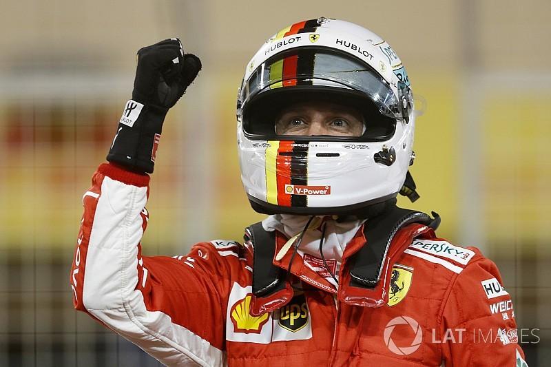 Феттель выиграл квалификацию Гран При Бахрейна