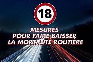 Auto Actualités Les 18 mesures du gouvernement pour la sécurité routière