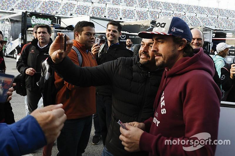 Alonso: Rolex 24 Saat'in atmosferi F1'de ''düşünülemez''
