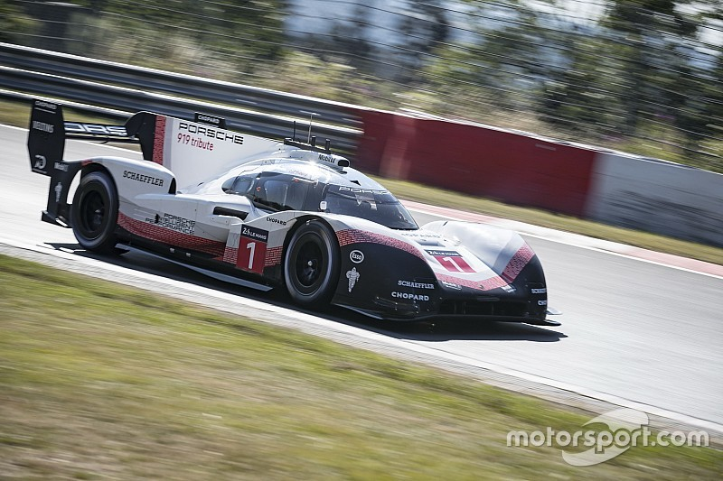 Porsche declined shot at McLaren's Goodwood record
