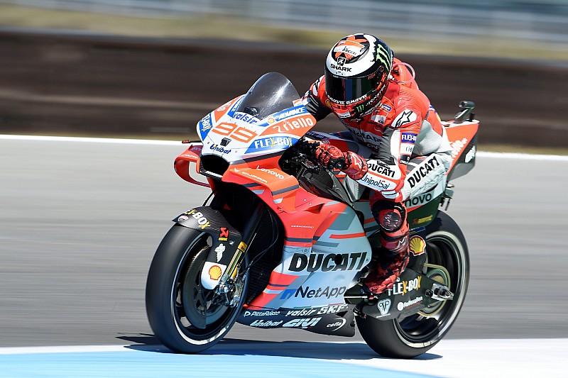 Lorenzo van P1 naar P10: