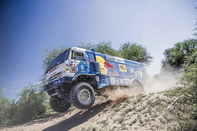 Дакар-2018, Етап 13: найкращі світлини вантажівок