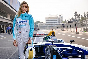 Formula E Special feature Video: Watch Carmen Jorda in her maiden Formula E test