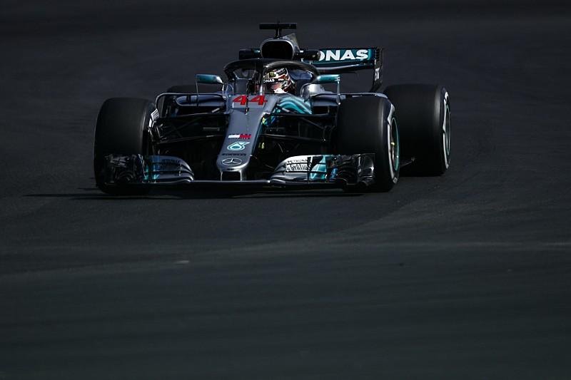 Britanya GP 3. antrenman: İlk sıra Hamilton'ın, Hartley büyük kaza yaptı
