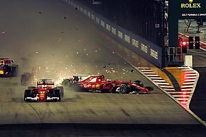 Formula 1 Breaking news Alami insiden selepas start, Verstappen salahkan Vettel