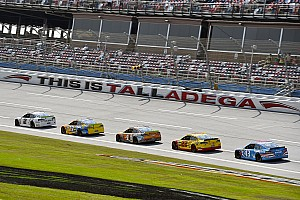 NASCAR Cup Race report Keselowski wins Stage 1 at Talladega; McMurray crashes out early