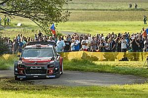 WRC Leg report Germany WRC: Mikkelsen leads after Friday morning loop