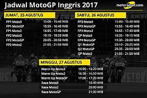 MotoGP Preview Jadwal lengkap MotoGP Inggris 2017