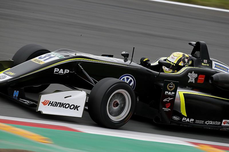 فورمولا 3: نوريس يُحرز الثلاثيّة وينطلق أوّلًا في السباقين الأخيرين في زاندفورت