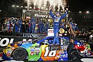 NASCAR Cup Kyle Busch completes Bristol hat trick with Cup win